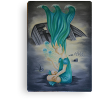 elemental children-water Canvas Print