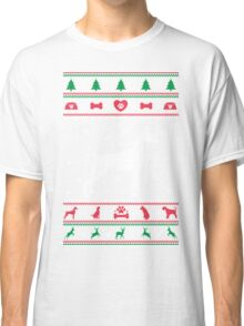 Great Dane Ugly Christmas Sweater Classic T-Shirt