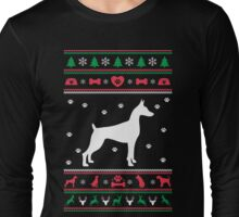 Great Dane Ugly Christmas Sweater Long Sleeve T-Shirt
