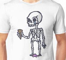 Skeleton Ice Cream  Unisex T-Shirt