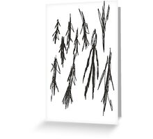 Slender - 3/8 Greeting Card