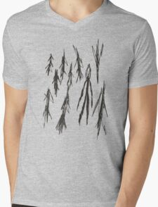 Slender - 3/8 Mens V-Neck T-Shirt