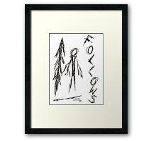 Slender - 4/8 Framed Print