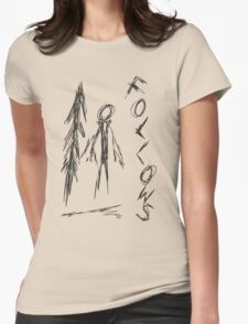 Slender - 4/8 Womens Fitted T-Shirt