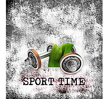 SPORT TIME Photographic Print