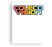 Retro Coleco Vision logo Canvas Print