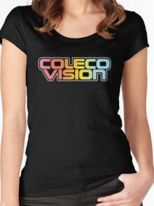 Retro Coleco Vision logo Women's Fitted Scoop T-Shirt