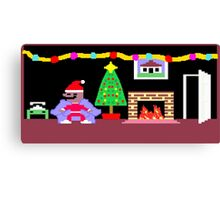 Little Computer People Christmas Canvas Print