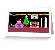 Little Computer People Christmas Greeting Card