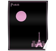 Paris Minimalist Travel Poster Poster