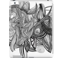 Leaves & lines #1 iPad Case/Skin