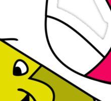 Touche Turtle - Touche Away! Sticker