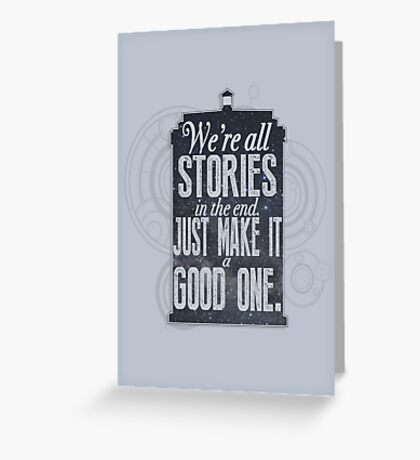 Stories Greeting Card