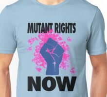 Mutant Rights Now Nightcrawler Unisex T-Shirt