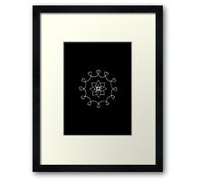 LOVE TO THE WORLD Framed Print