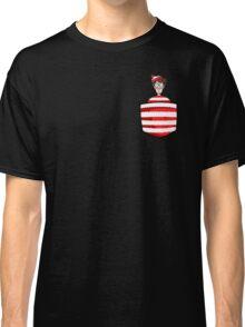 Wally / Waldo is in my pocket Classic T-Shirt