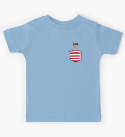 Wally / Waldo is in my pocket Kids Tee