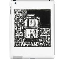 Melbourne tram #1 iPad Case/Skin