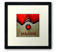 I Can See Paradise by The Console Light Framed Print