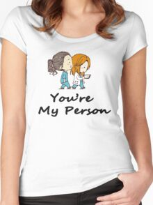 You are my Person - Cristina Yang  Women's Fitted Scoop T-Shirt