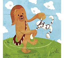 Star Wars babies - inspired by Chewbacca Photographic Print