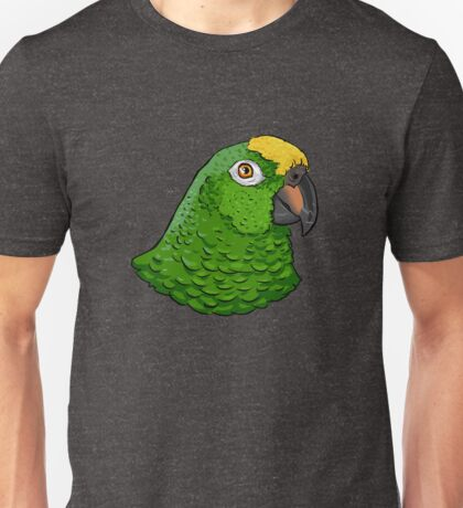 Yellow crowned Amazon parrot  Unisex T-Shirt
