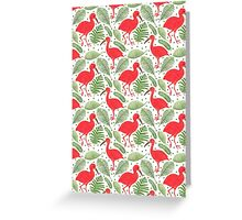 The Scarlet Ibis Greeting Card