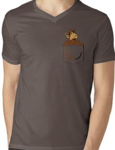 Alf Pocket  Mens V-Neck T-Shirt