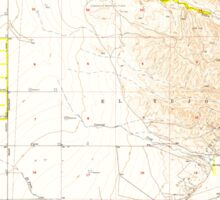 USGS TOPO Map California CA Tejon Hills 300823 1955 24000 geo Sticker