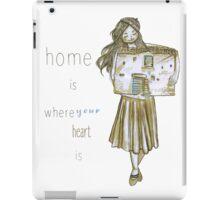 Tiny house lady iPad Case/Skin