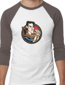 Time Travelers, Series 1 - Ash Williams (Alternate) Men's Baseball ¾ T-Shirt