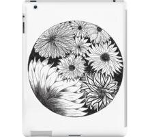 Flower circle #1 iPad Case/Skin