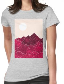 Ruby Mountains Womens Fitted T-Shirt