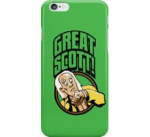Time Travelers, Series 1 - Doc Brown (Alternate 2) iPhone Case/Skin