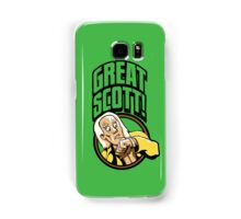 Time Travelers, Series 1 - Doc Brown (Alternate 2) Samsung Galaxy Case/Skin