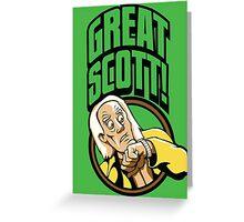 Time Travelers, Series 1 - Doc Brown (Alternate 2) Greeting Card