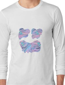 Psychedelic face Long Sleeve T-Shirt