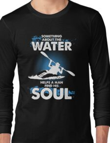 Kayak T-shirt Long Sleeve T-Shirt