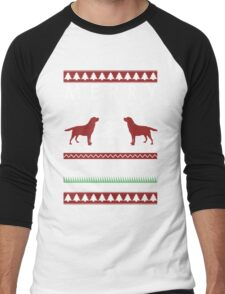 Merry Christmas you filthy animal T shirt Men's Baseball ¾ T-Shirt