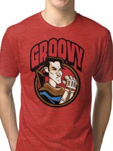 Time Travelers, Series 1 - Ash Williams (Alternate 2) Tri-blend T-Shirt