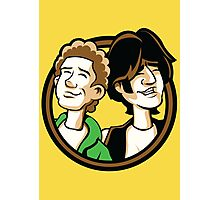 Time Travelers, Series 2 - Bill & Ted (Alternate) Photographic Print