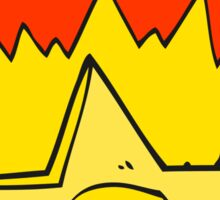 cartoon sheriff badge Sticker