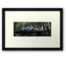 French Fast Framed Print
