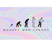 evolution theory Photographic Print