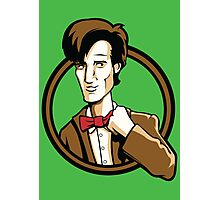 Time Travelers, Series 2 - The 11th Doctor (Alternate) Photographic Print
