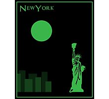 New York Minimalist Travel Poster Photographic Print