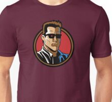 Time Travelers, Series 2 - The Terminator (Alternate) Unisex T-Shirt