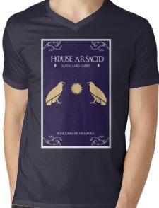 House Arsacid Mens V-Neck T-Shirt