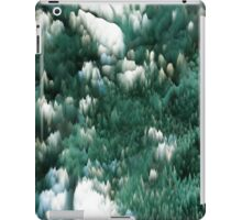 Ice and green iPad Case/Skin