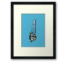 Time Travelers, Series 2 - Wolverine Framed Print